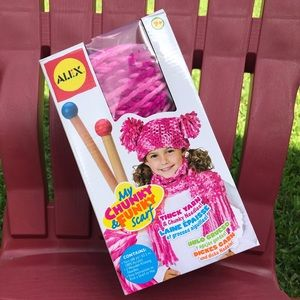 🙌Alex Toys-my Chunky & Funky scarf D.I.Y ages 7+
